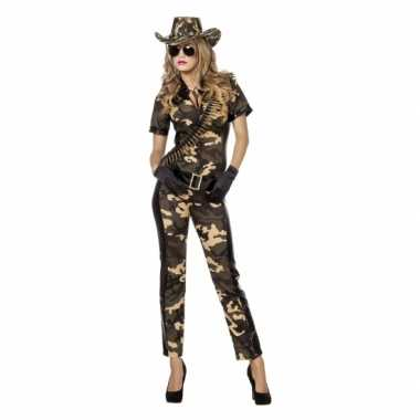 Camouflage morphsuitl dames
