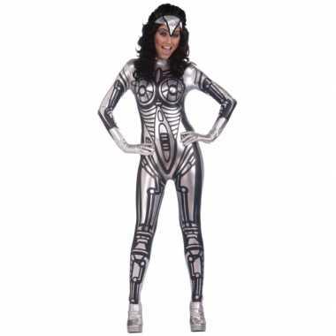 Dames robot morphsuit