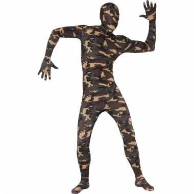 Second skin morphsuit leger