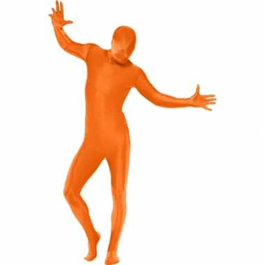 Second skin morphsuit oranje