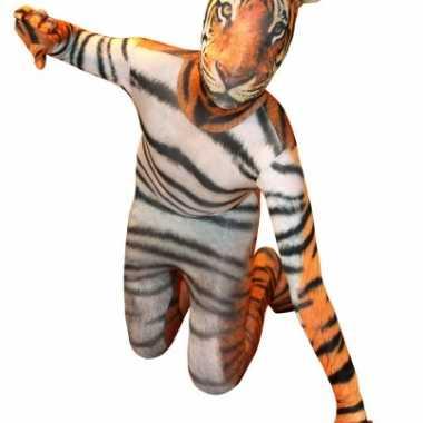 Morphsuit tijger kinderen