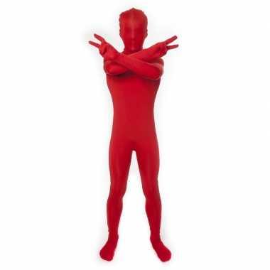Rood morphsuit kinderen