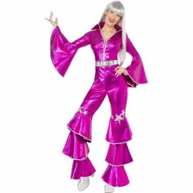Roze jaren morphsuit dames