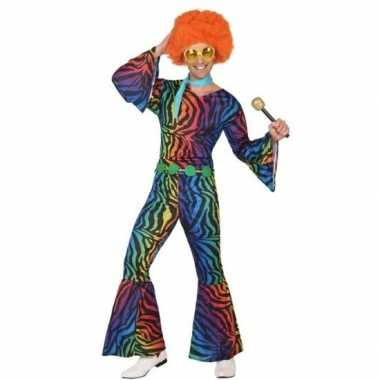 Seventies/disco morphsuit heren