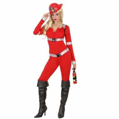 Sexy brandweer morphsuit