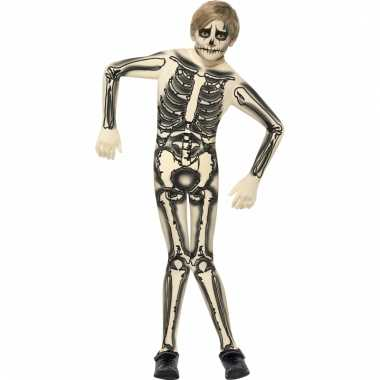 Skeletten morphsuit kids