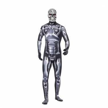 Terminator endoskeleton morphsuit heren