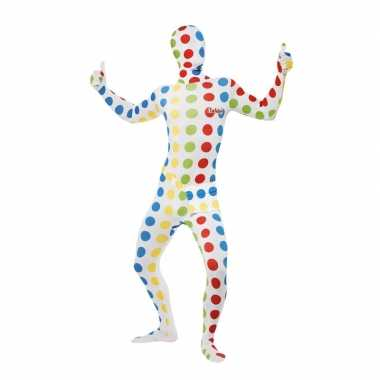 Twister second skin volwassenen morphsuit